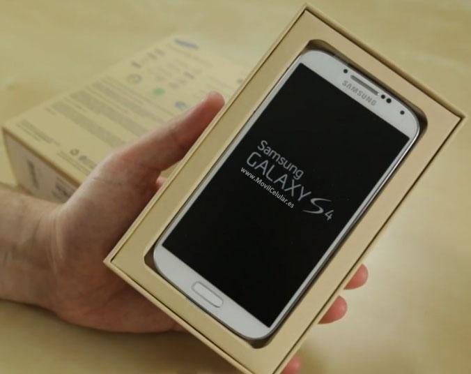 Samsung Galaxy S4 Fotos