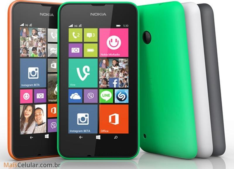 Nokia Lumia 530 es lanzado en el mercado asiático