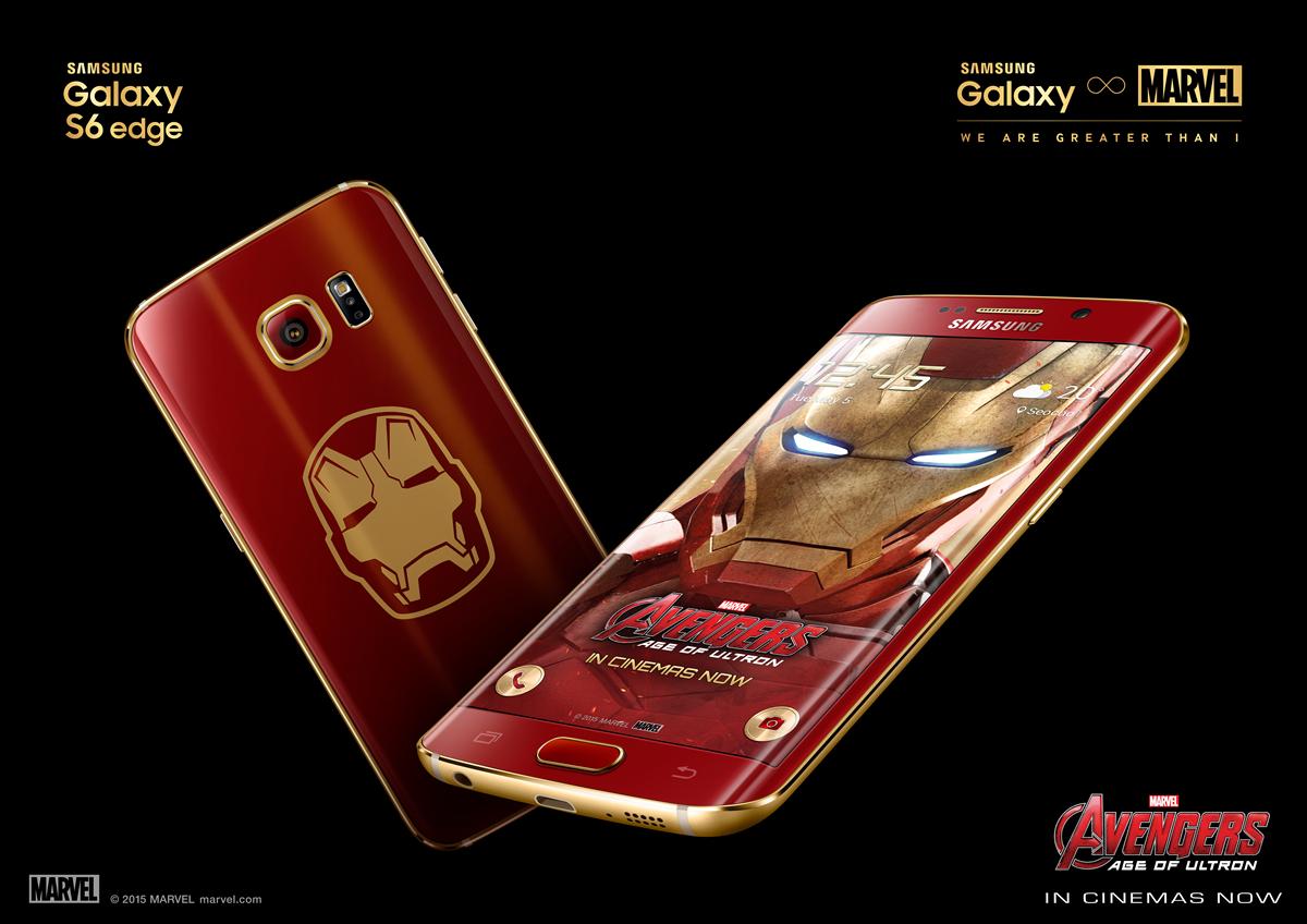 Galaxy S6 Edge hombre de hierro es anunciado por Samsung