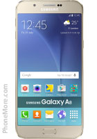e1b45a6b2201e Samsung Galaxy A8 Duos SM-A8000 32GB - Ficha técnica - Mais Celular