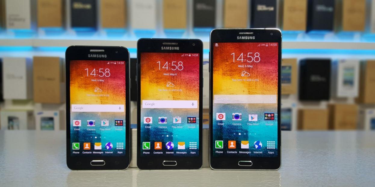 Galaxy A7 con batería de 3300 mAh