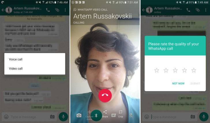 WhatsApp beta ganha chamadas de vídeo [v2.16.318]