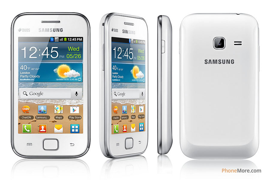 Samsung Galaxy Ace Duos S6802 - Pictures - PhoneMore