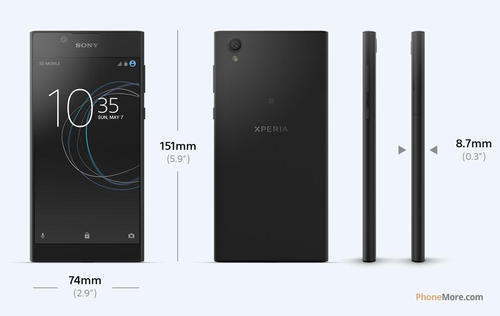 Sony Xperia L1 - Imágenes - Móvil Celular
