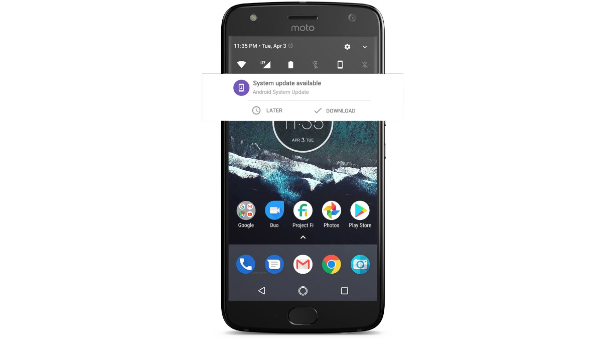 Smartphone Moto X4 Android One