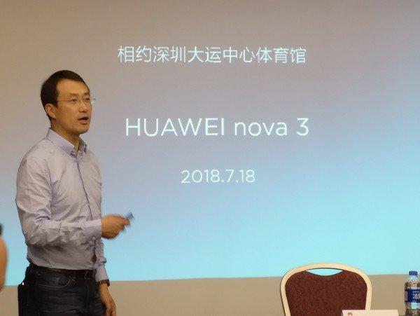 Huawei Nova 3 aparece com entalhe na tela