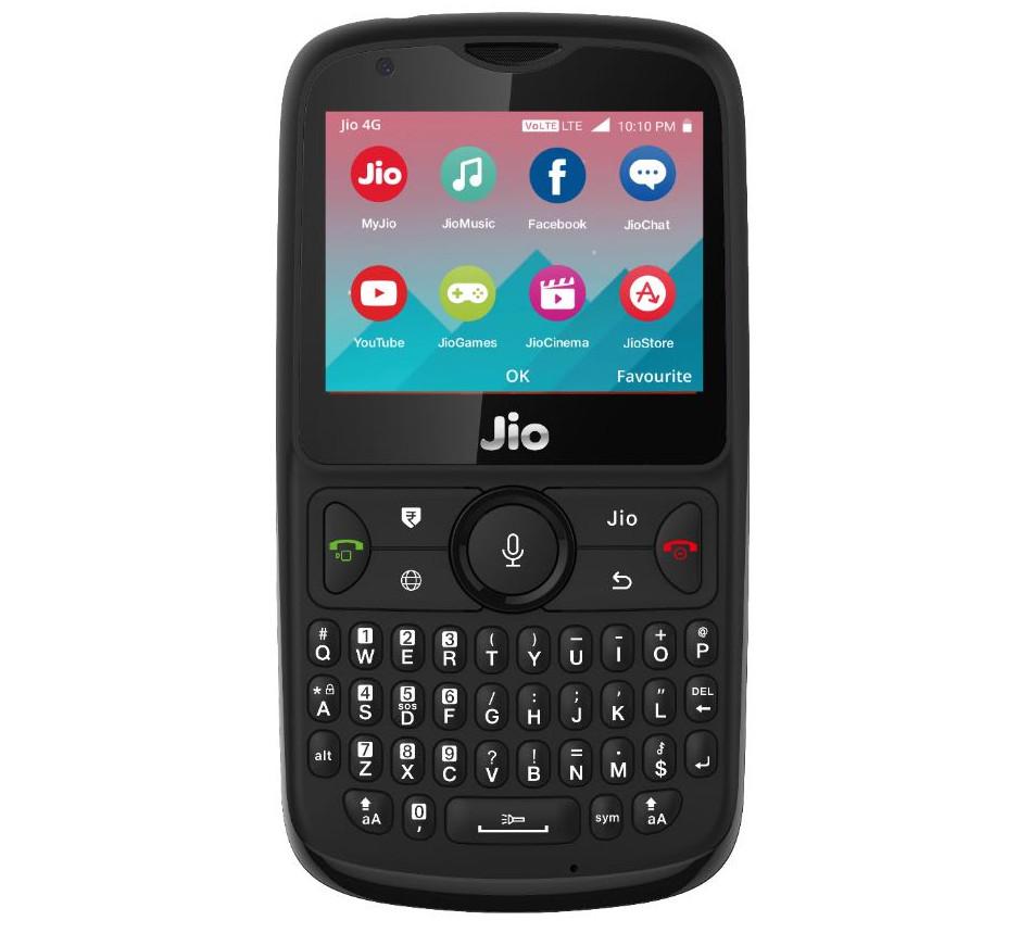 JioPhone 2 é anunciado com teclado QWERTY