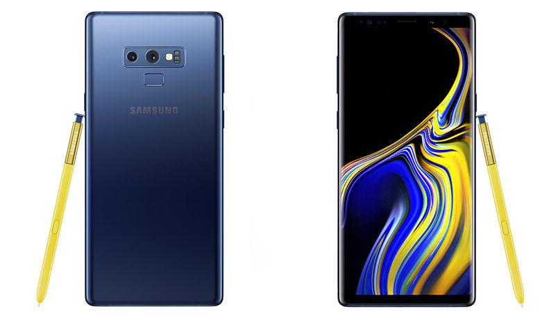 Samsung anuncia Galaxy Note 9 com 8 GB de RAM