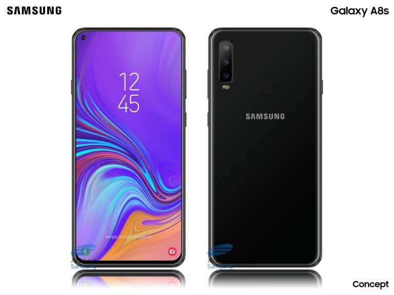 Galaxy A8s é certificado por agência reguladora dos EUA
