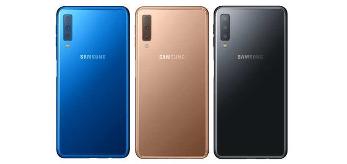 Conheça a câmera tripla do Samsung Galaxy A7