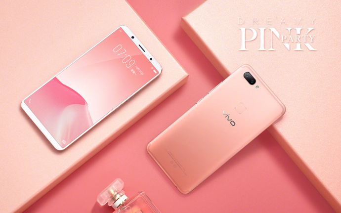 Smartphone Vivo X20 Rosa Dreamy Pink