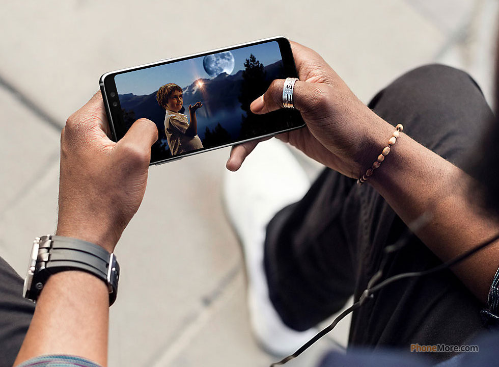 Samsung Galaxy A8 2018 Sm A530f Ds 32gb Fotos Maiscelular