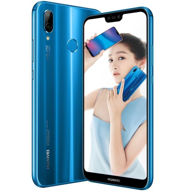 """Huawei anuncia """"Nova 3e"""" com tela FHD+ 19:9 e câmera frontal de 24 MP"""