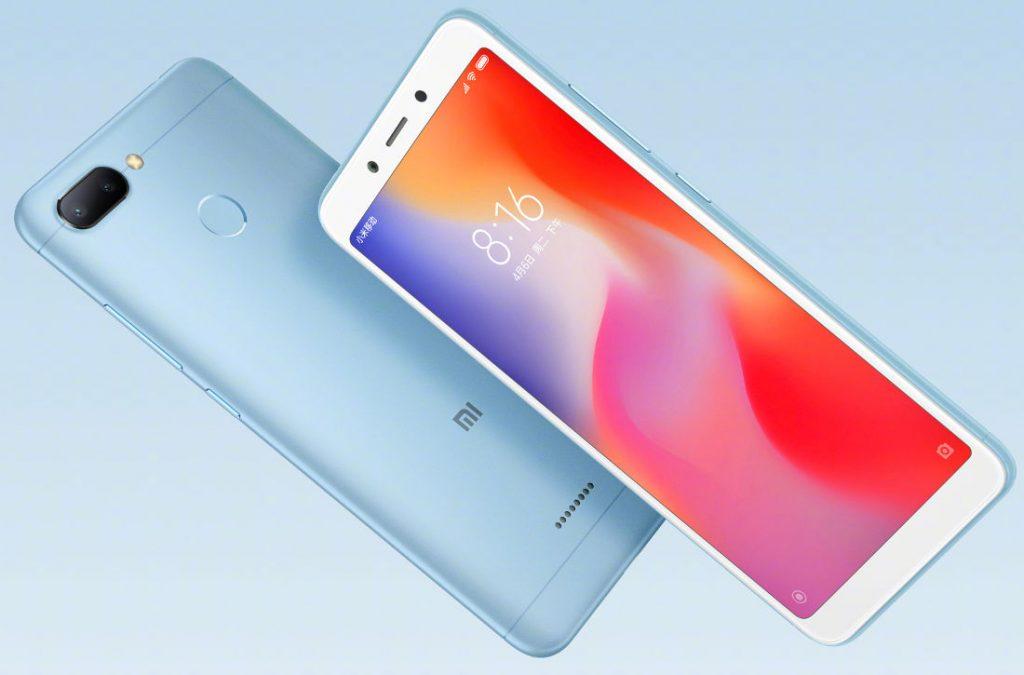 Xiaomi Redmi 6 surge com câmera dupla inteligente
