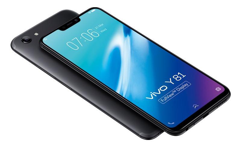 """Vivo Y81 chega com tela FullView de 6,22"""""""