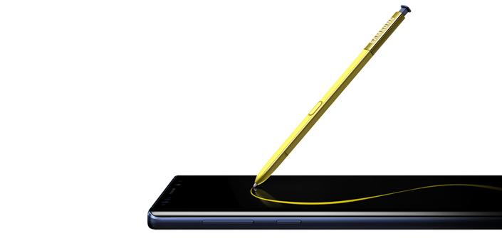 S Pen do Galaxy Note 9 funciona como controle remoto