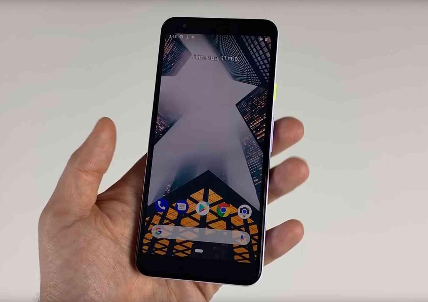 Google Pixel 3 Lite vaza novamente, desta vez em vídeo