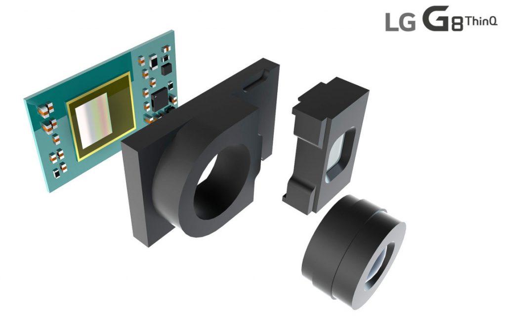 LG G8 ThinQ contará com câmera frontal ToF 3D para desbloqueio facial