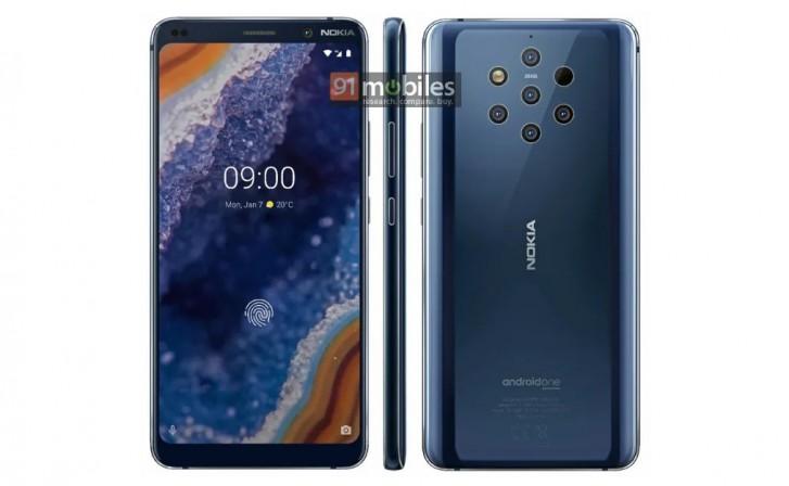 Imagem de imprensa vazada confirma Nokia 9 PureView com 5 câmeras traseiras