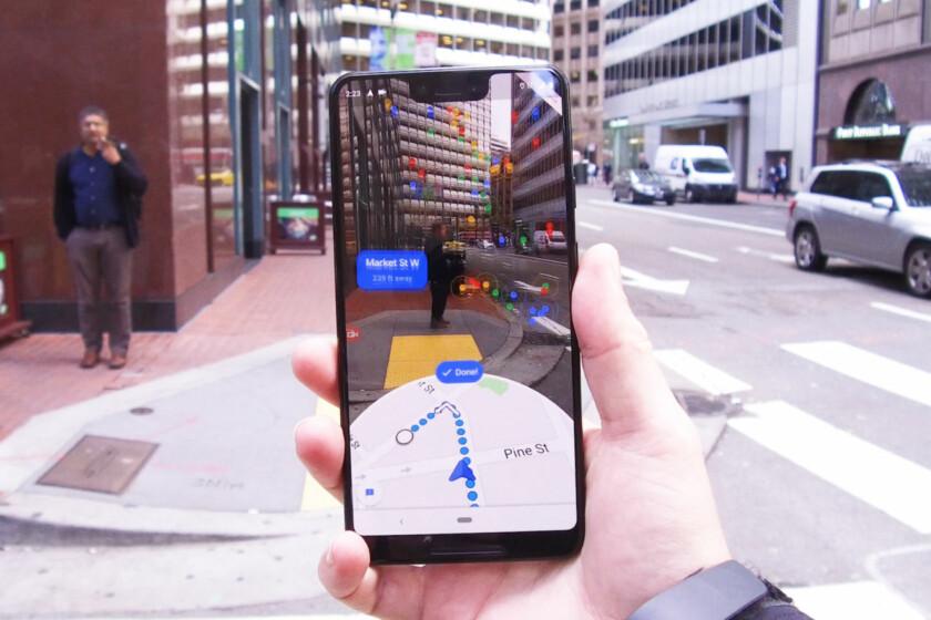 Nunca mais ande na direção errada com o novo recurso de AR do Google Maps