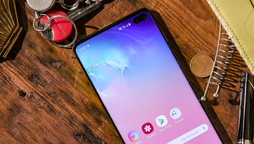 samsung galaxy s10 plus cameras frontais