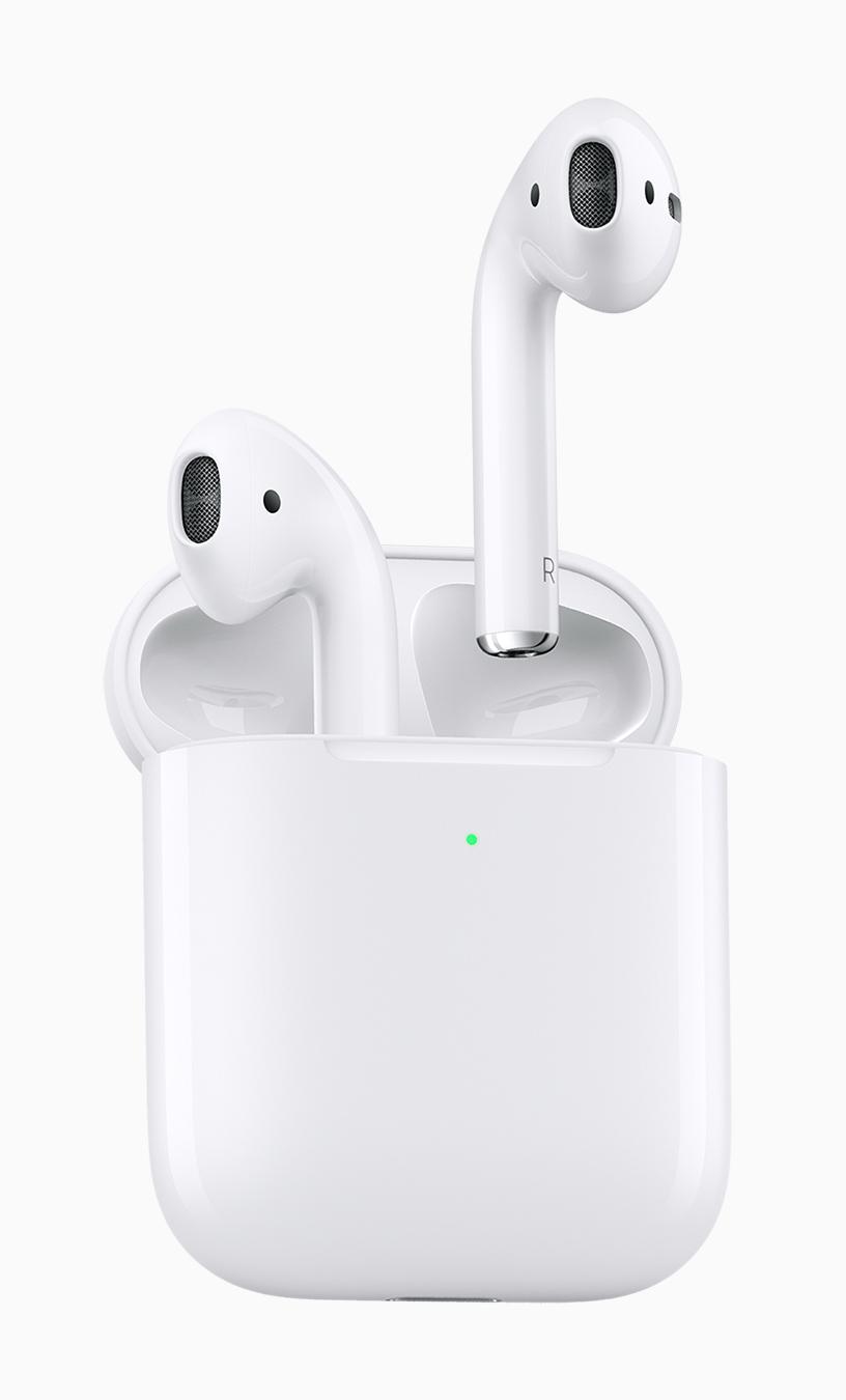 novos apple airpods