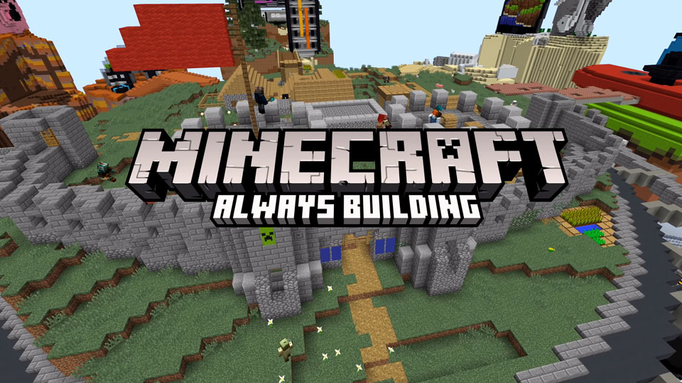 minecraft always building