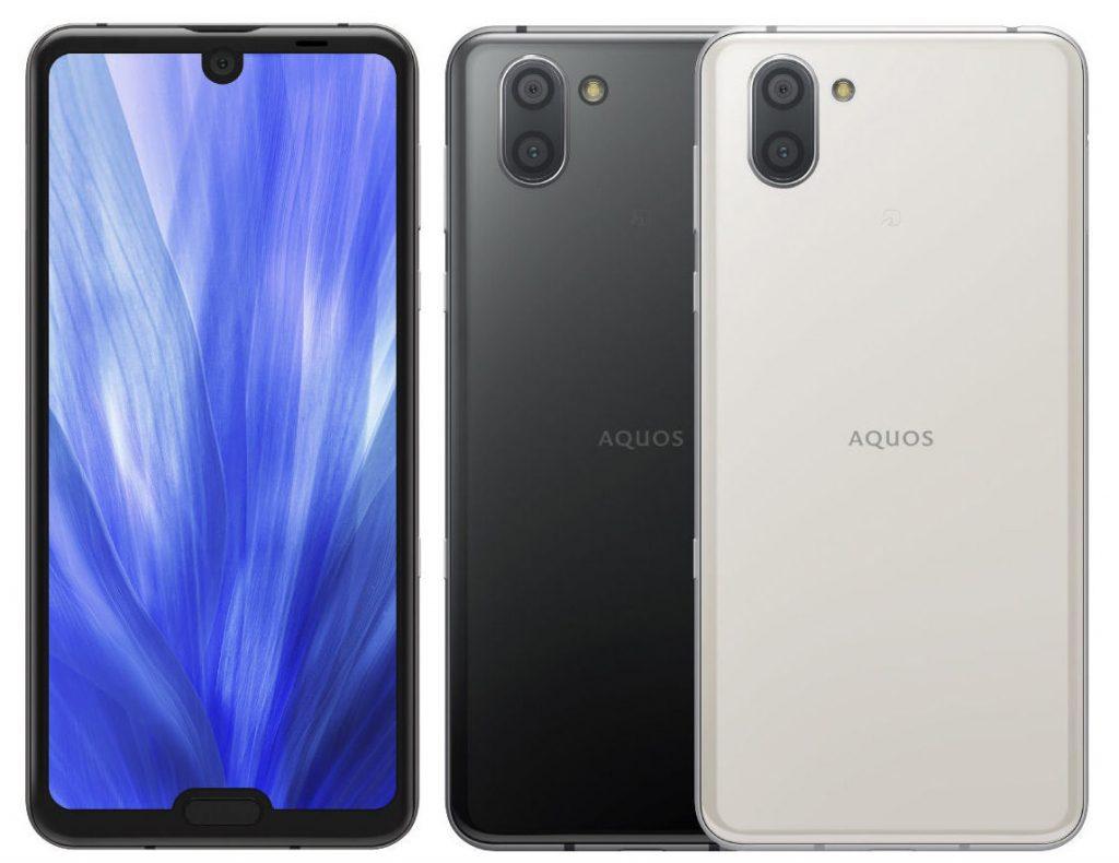 smartphone sharp aquos r3
