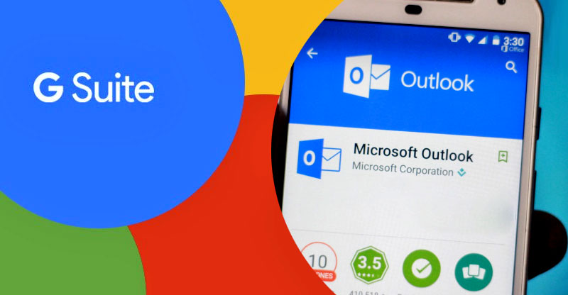 g suite vs microsoft outlook