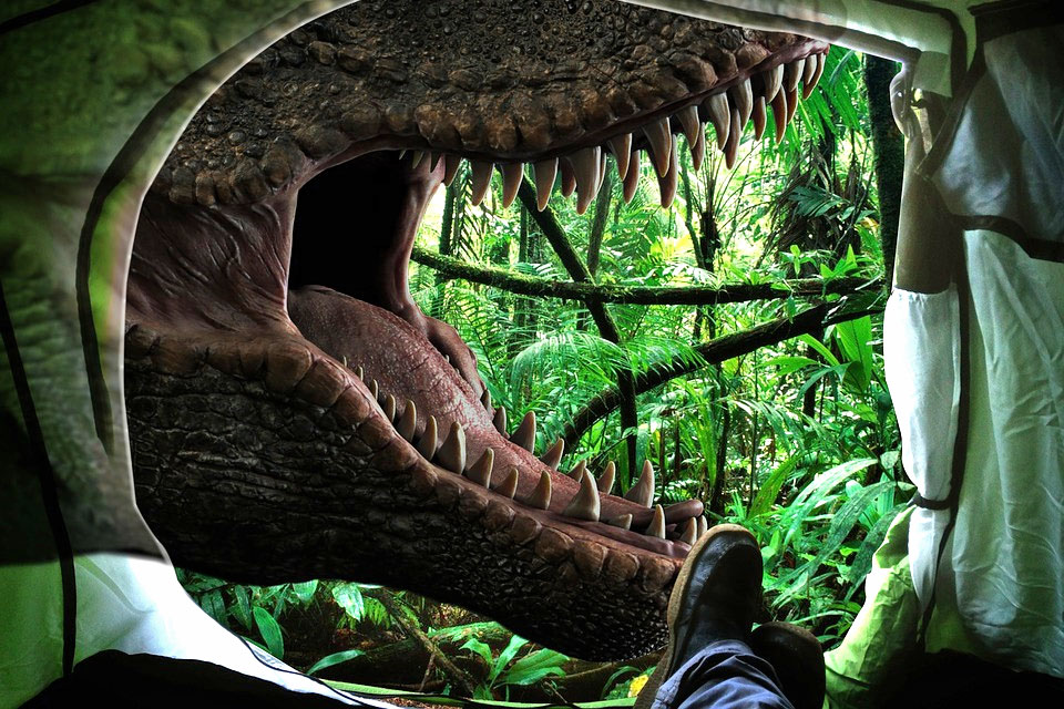 dinosaur mouth