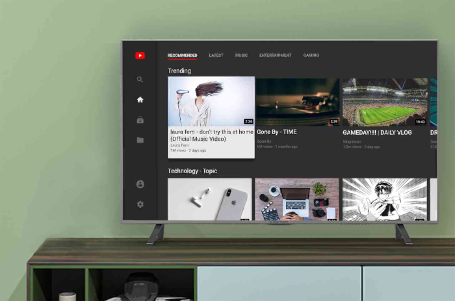 amazon fire tv youtube app