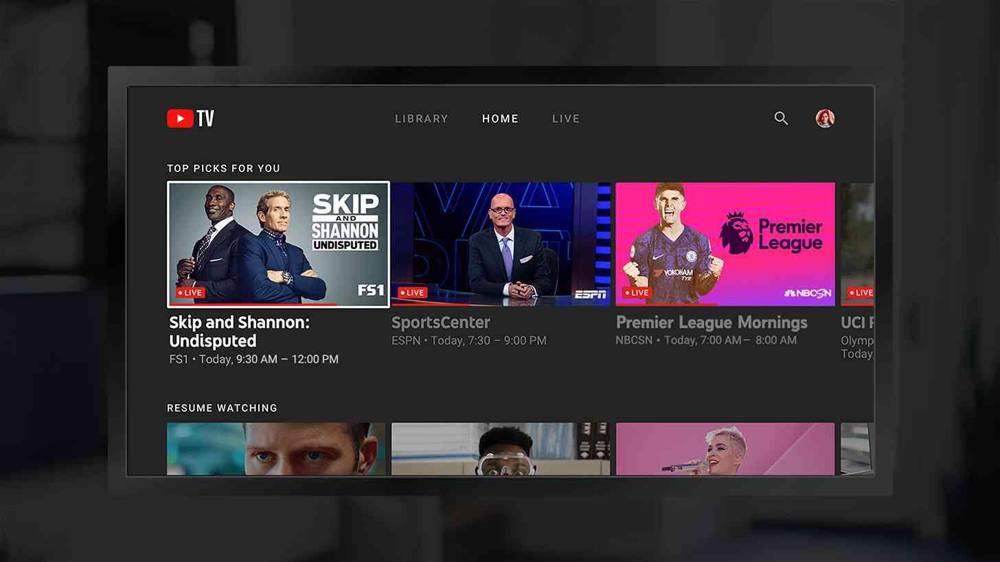youtube tv app amazon fire
