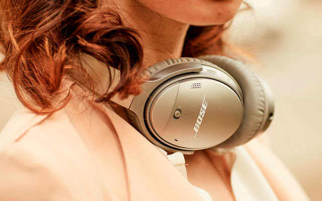 bose gold headphone
