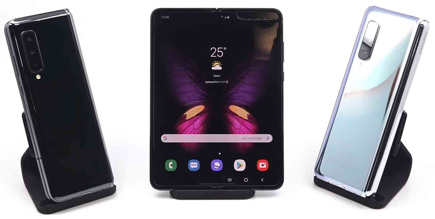 smartphone de tela dobravel samsung galaxy fold