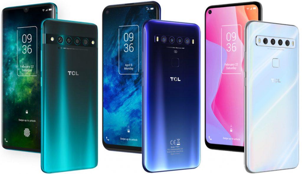 TCL 10 5G, TCL 10 Pro e TCL 10L estreiam com câmeras traseiras ...