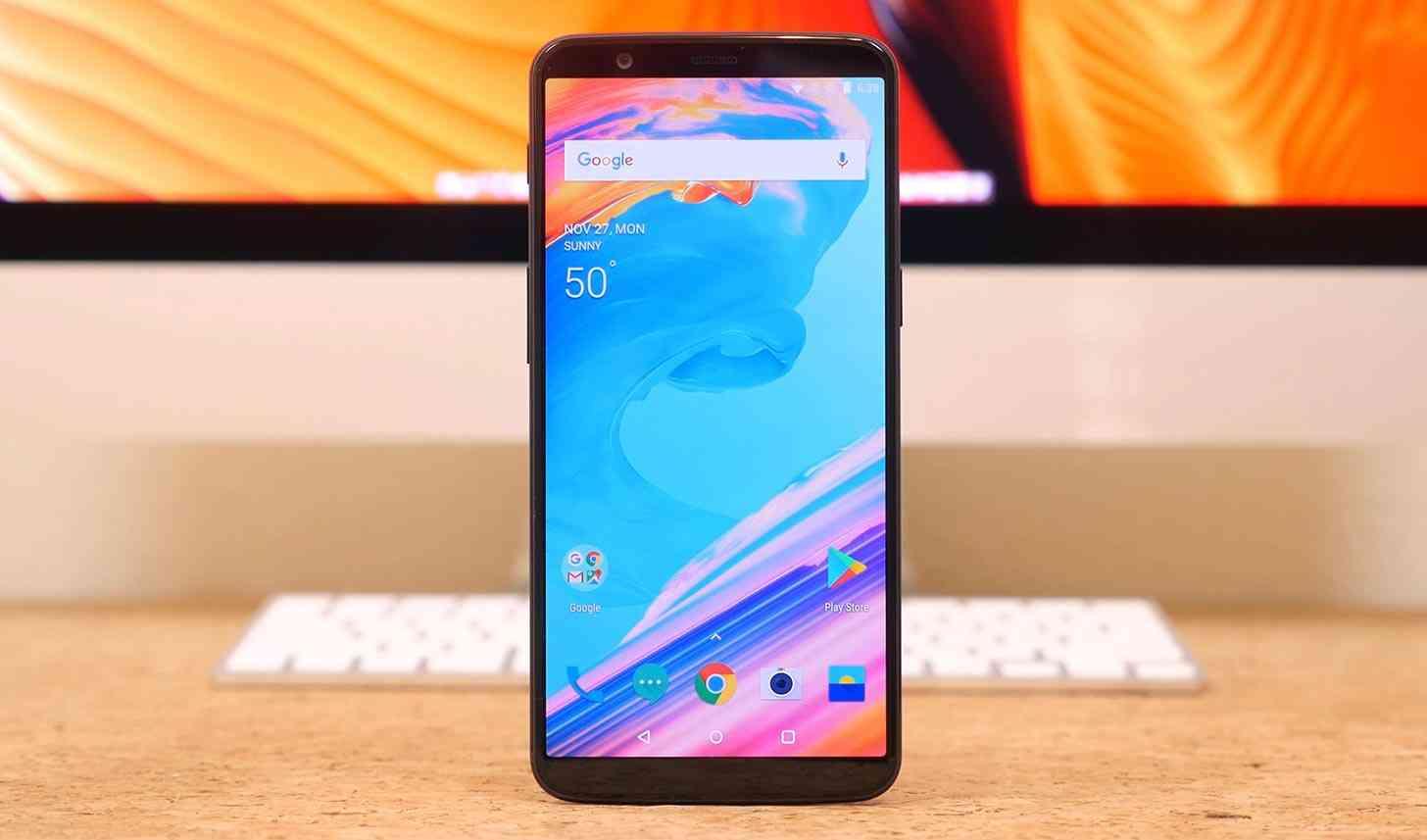 smartphone oneplus 5t