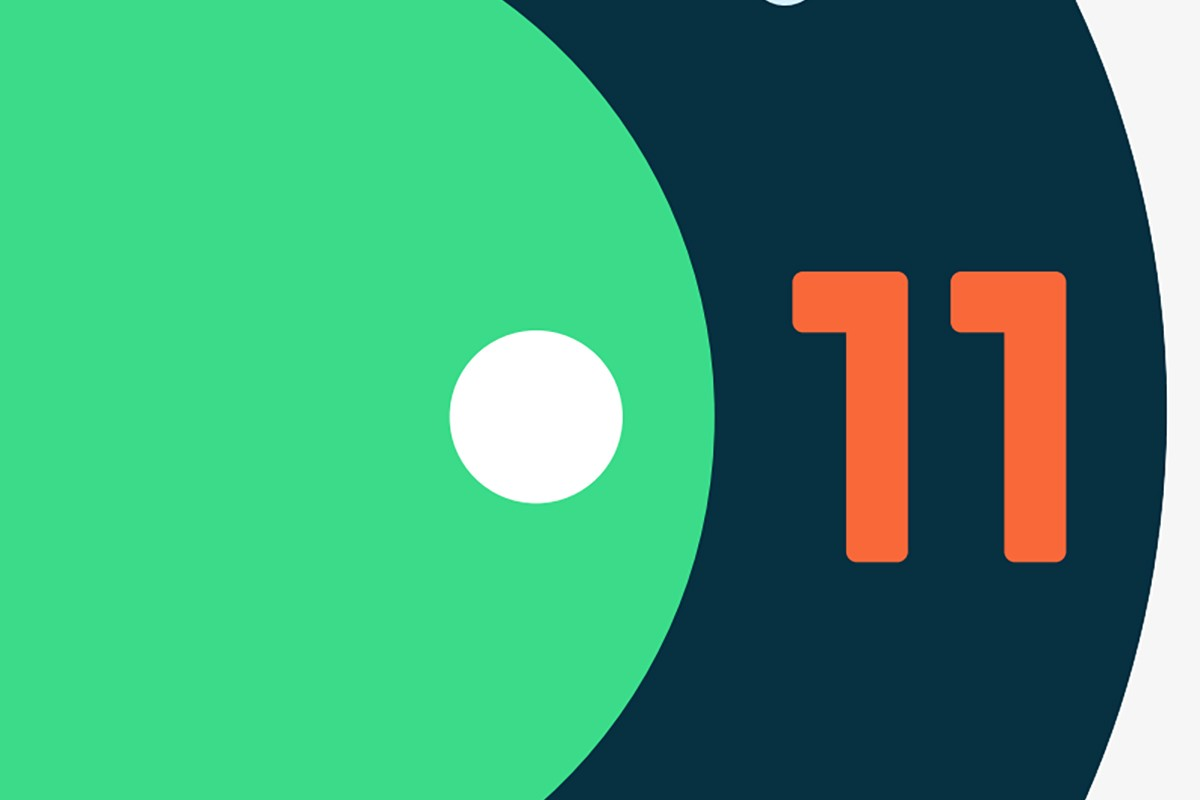 os google android 11 logo