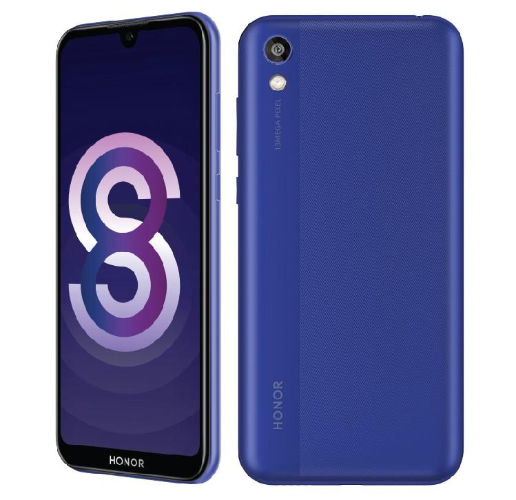 smartphone honor 8s 2020 frontal e traseira