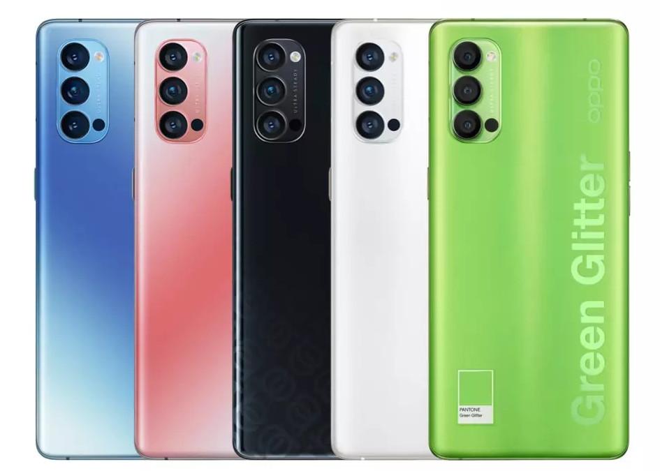 smartphone oppo reno4 e reno4 pro 5g