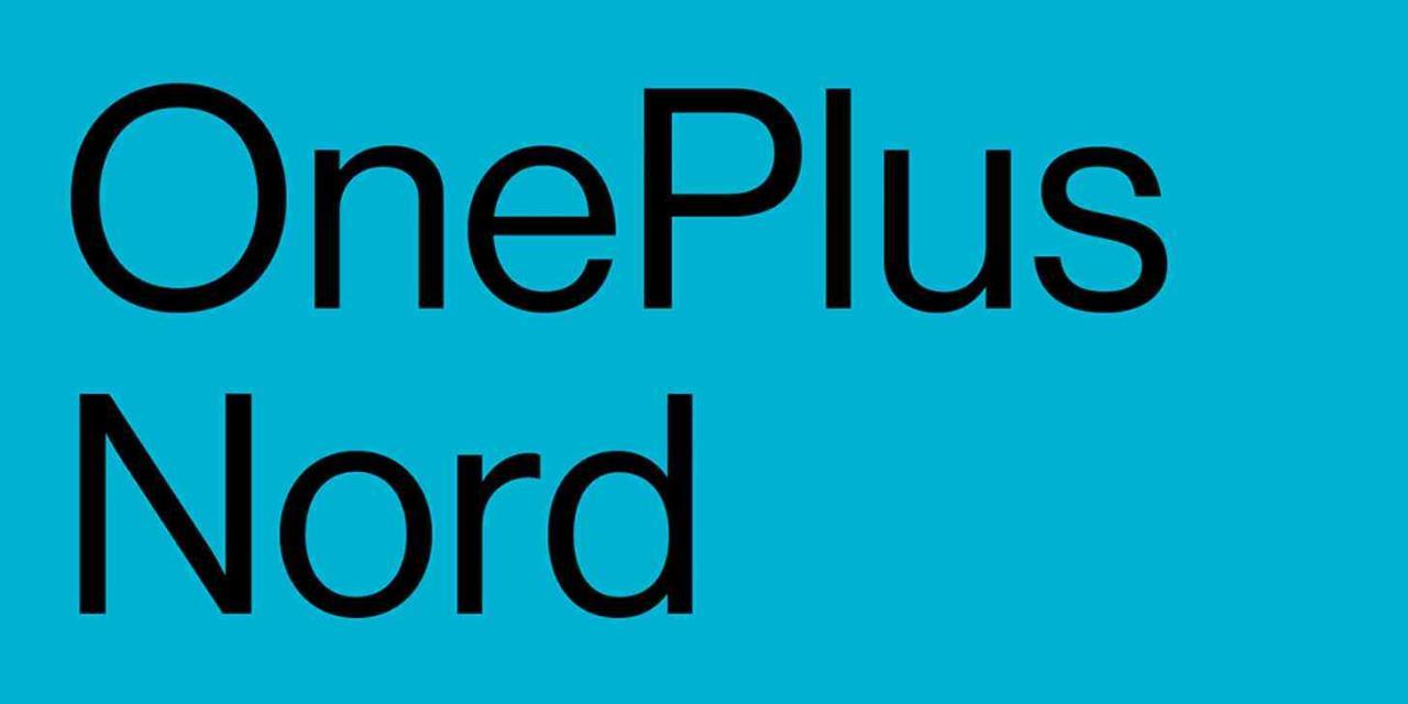 oneplus nord logotipo