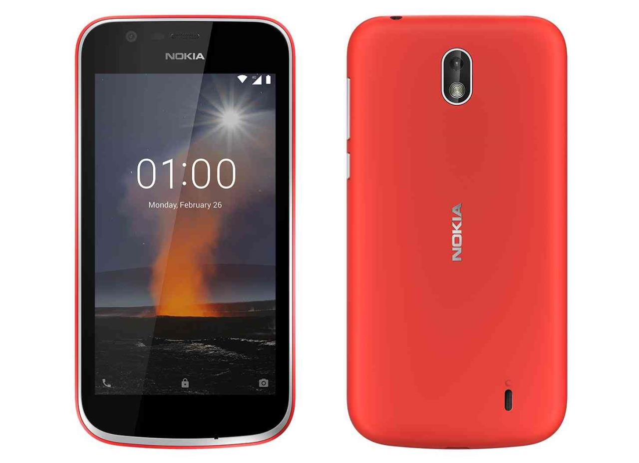 smartphone nokia 1 hmd global android 10