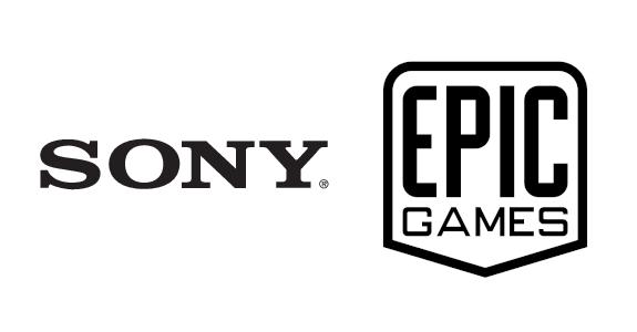 sony e epic games logotipos