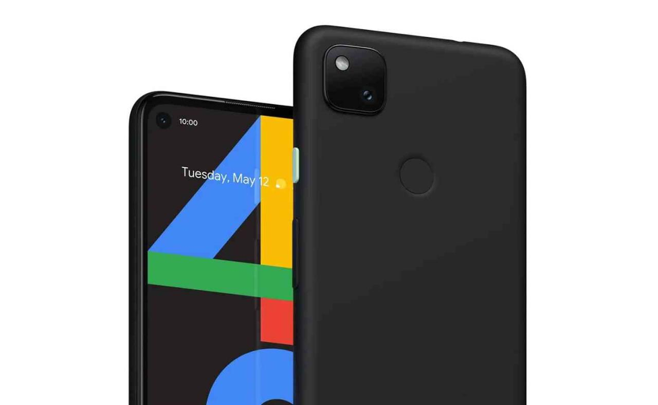 google pixel 4a vazado
