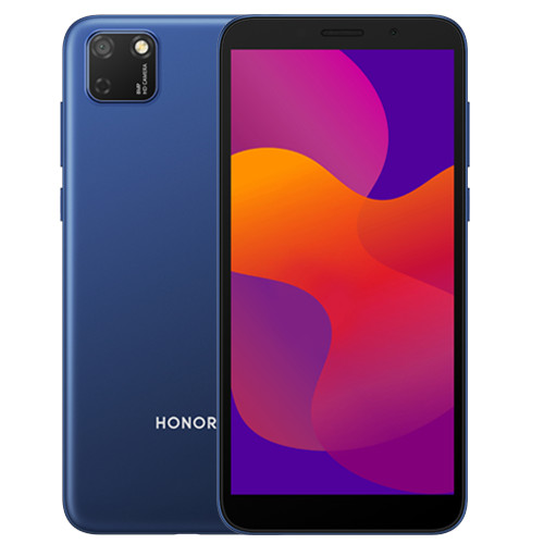 honor 9s frontal e traseira