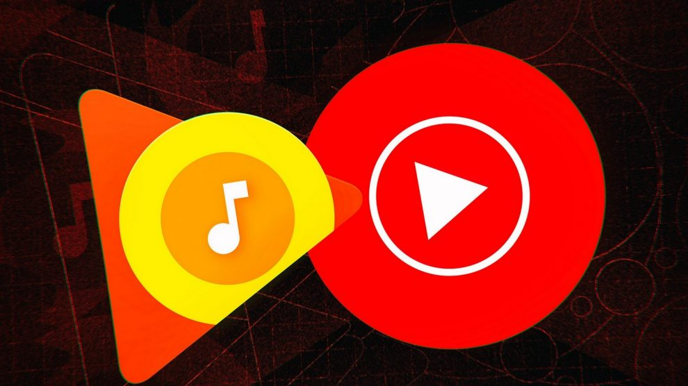 google play music, youtube music