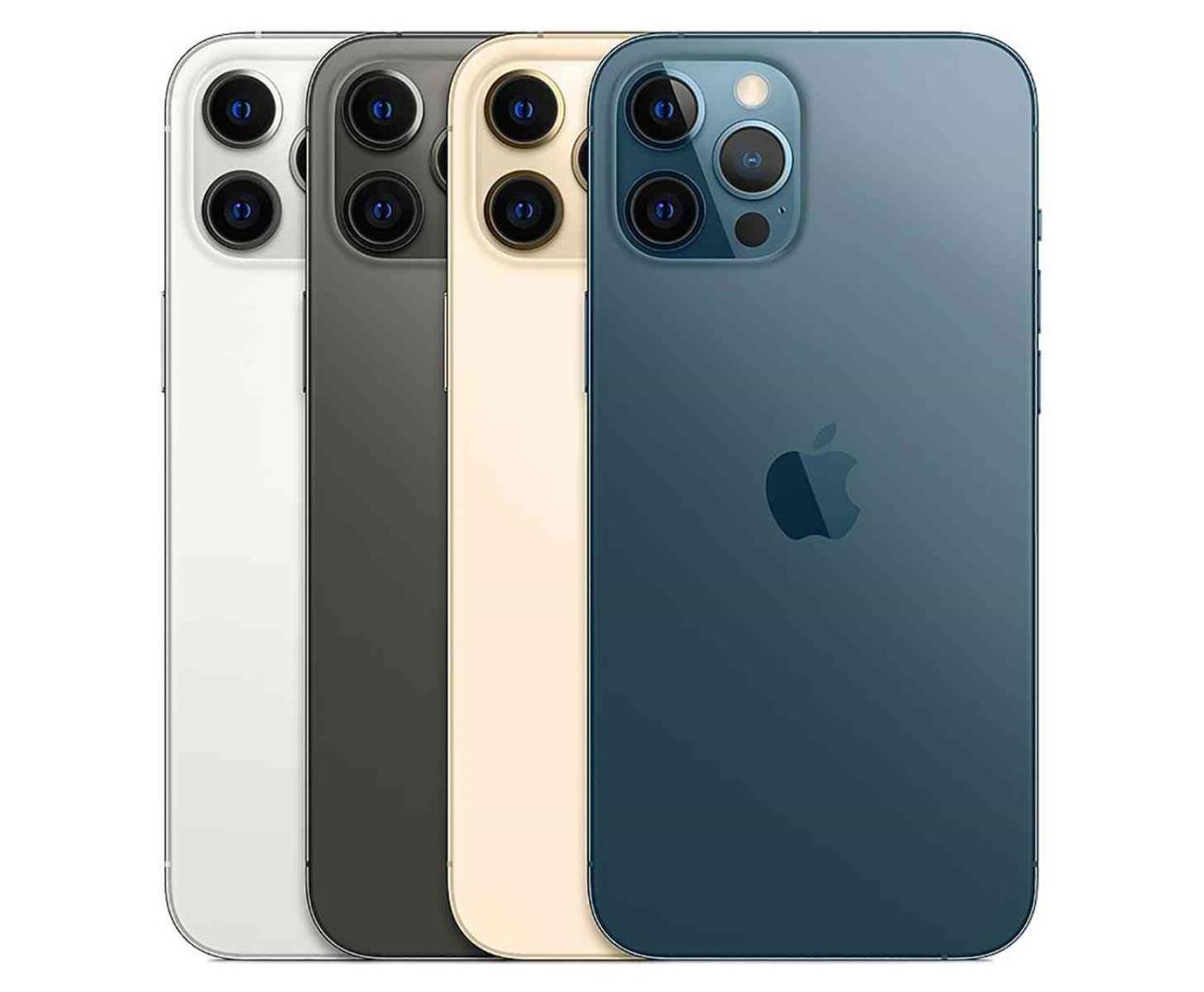 apple iphone 12 pro e pro max