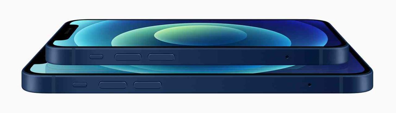 apple iphone 12 mini lateral