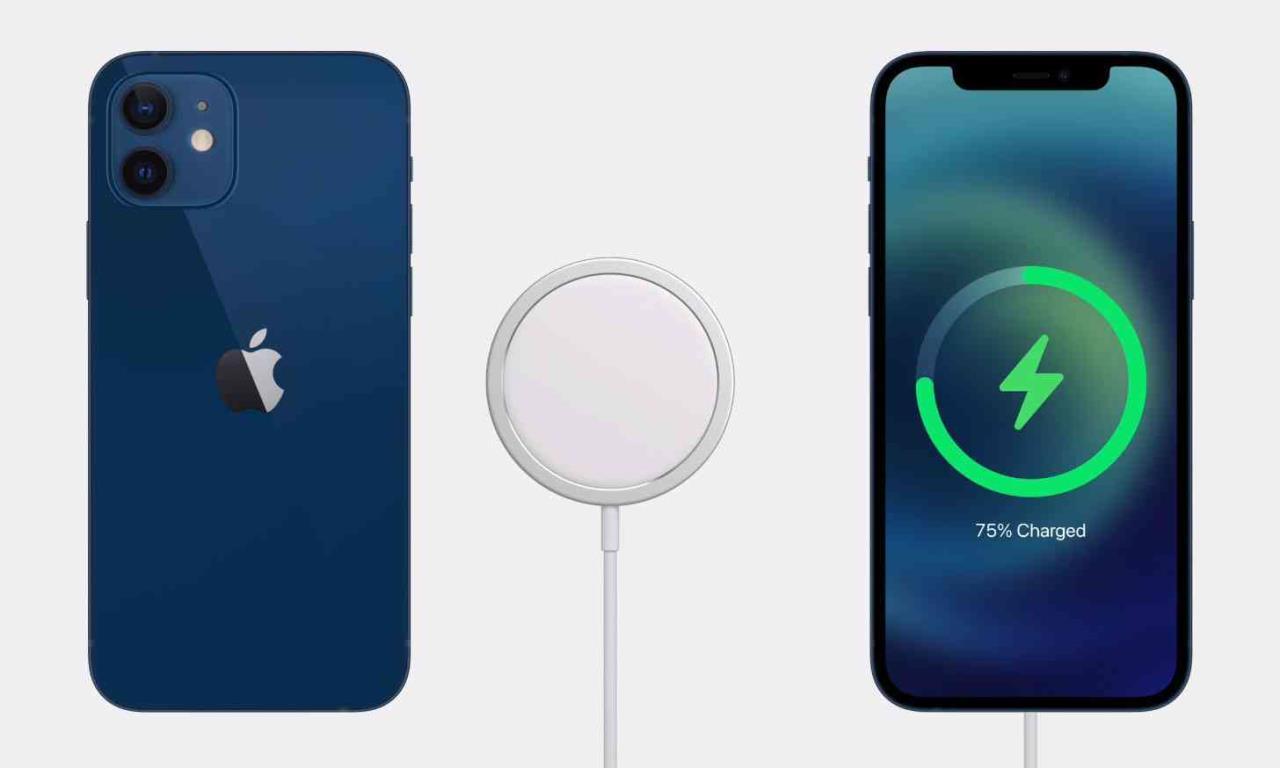 apple iphone 12 mini carregamento magsafe