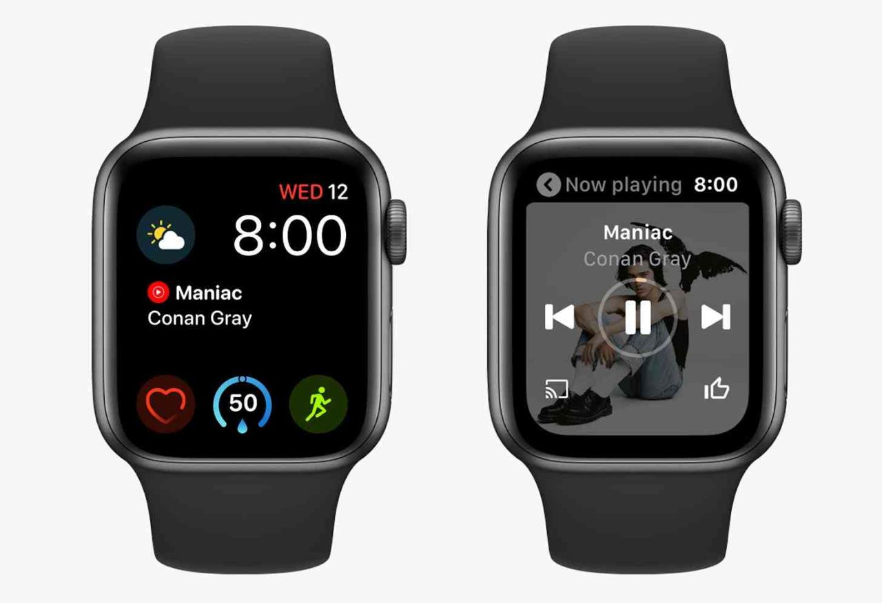youtube music apple watch app