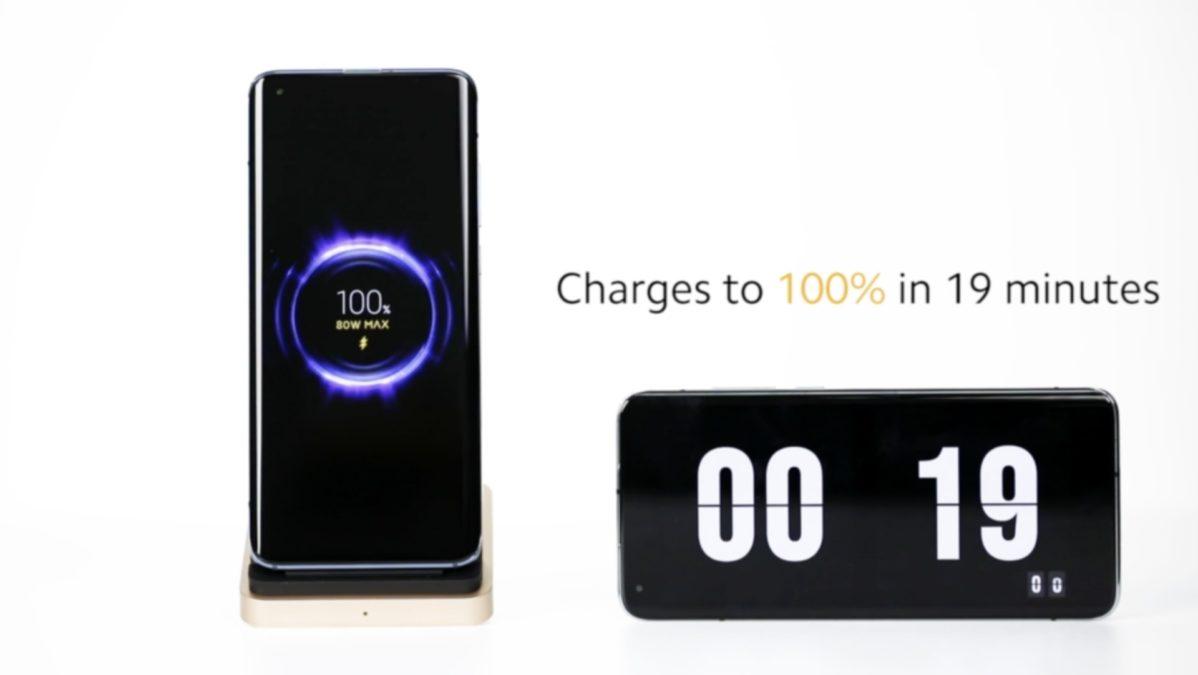 Xiaomi revela la tecnología de carga rápida inalámbrica de 80W